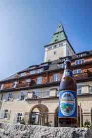 Gipfelbier und Schloss Elmau