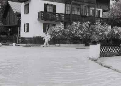 1999 Hochwasser in Mittenwald