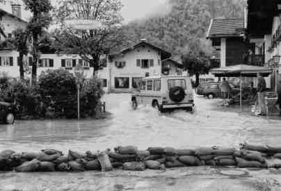 Hochwasser 1999 im Gries