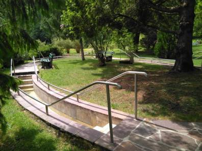 Kneippbecken im Krausegarten