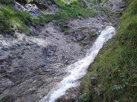 Wasserfall in der Hüttelbachklamm