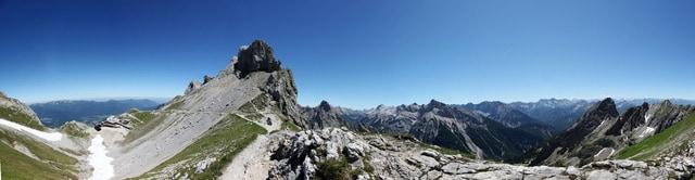 Panorama am Karwendel