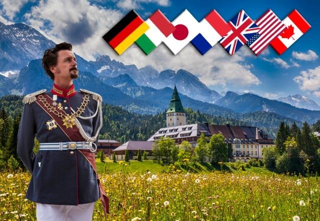 König Ludwig und die G7