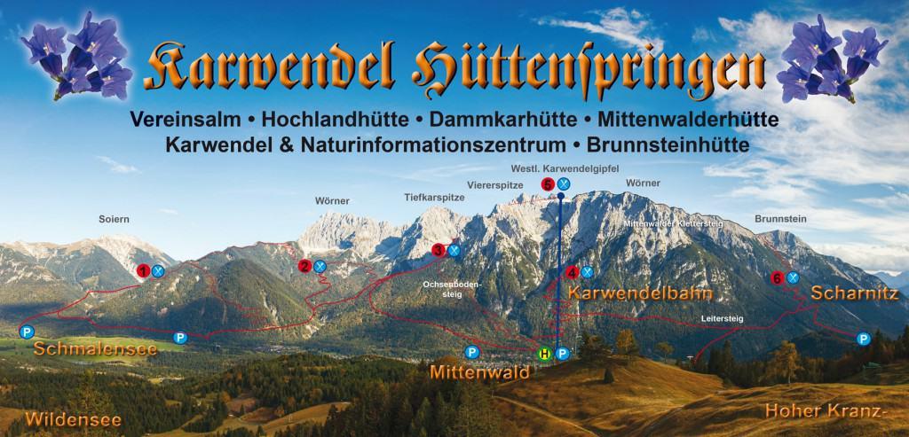 Karwendel Hüttenspringen