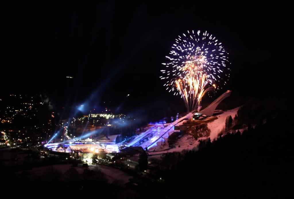 Eröffnungsfeier OlympiaSprungschanze