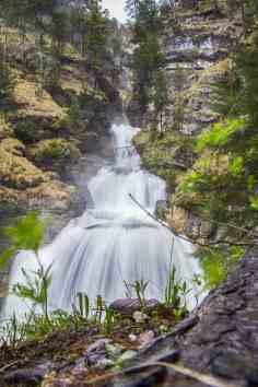Die Kuhflucht Wasserfälle bei Farchant