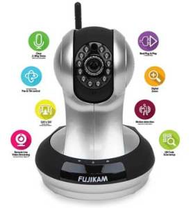 Fujikam FI-361 wireless home security camera