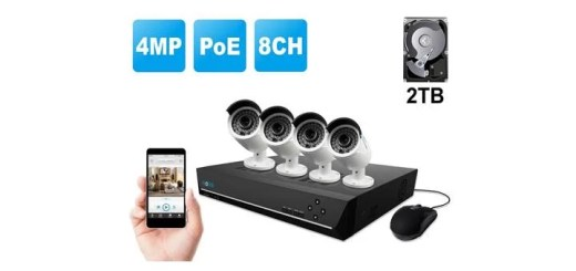 reolink 8 channel security system