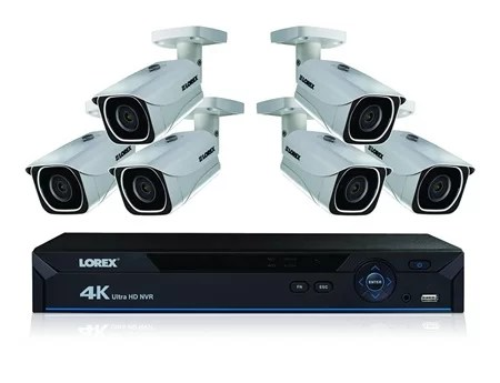 lorex 8 camera dvr system kit
