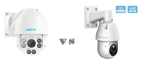 Reolink vs Amcrest PTZ camera