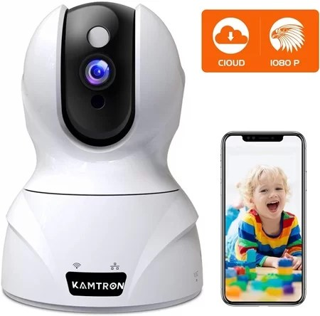 Kamtron 1080p wifi home camera