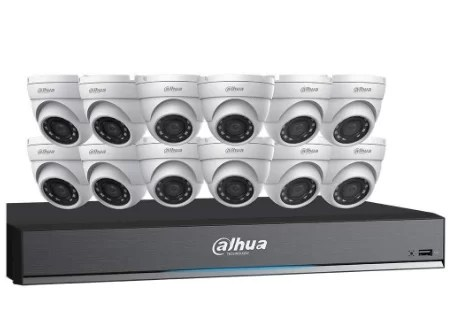 Dahua 16 channel surveillance system