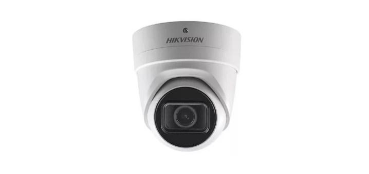 hikvision 4k turret camera