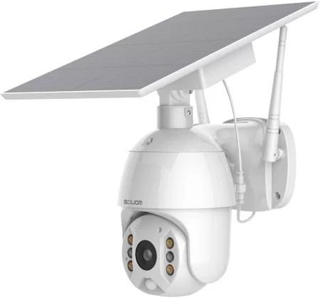 Soliom PTZ camera with Solar power