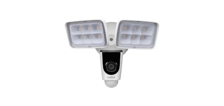 lorex floodlight security camera