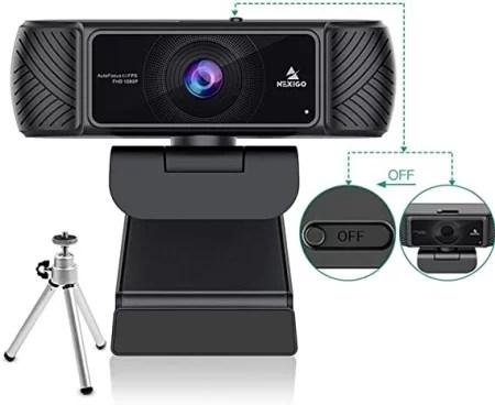 Nexigo n860p webcam @60 fps