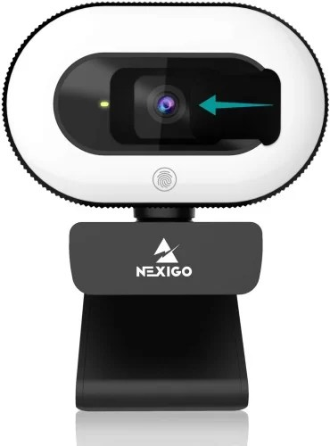 Nexigo n930e webcam with ring light