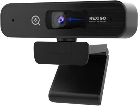 Nexigo n940 2k webcam with zoom