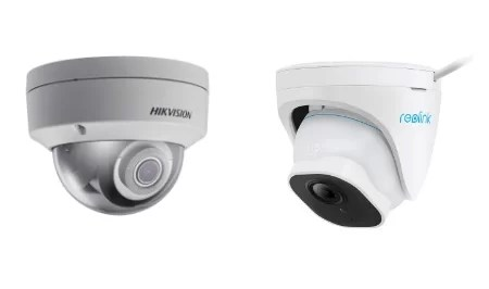 Hikvision vs Reolink Dome cams