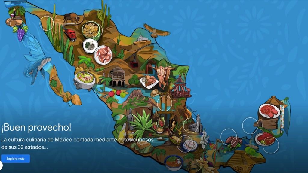 Google presenta plataforma sobre gastronomía mexicana