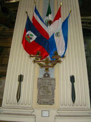 Bombas sin explotar de la basílica de la Virgen del Pilar