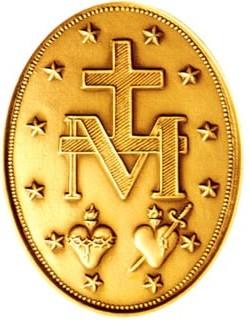 Reverso de la Medalla Milagrosa