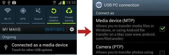 Media Device MTP