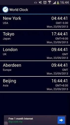 world clock and widget_1