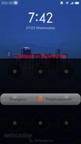 mi3 forgot password_3