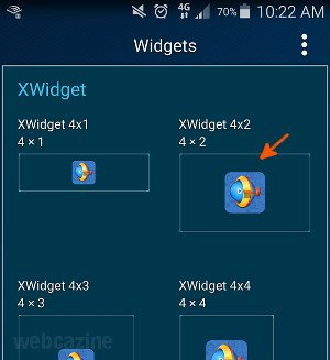 xwidget s6 weather clock widget_3