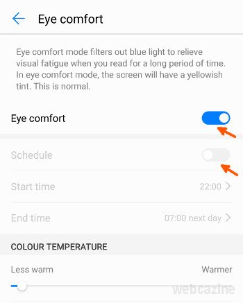 honor8 eye comfort_2