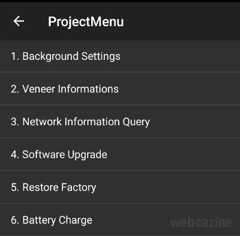 honor8 projectmenu screen_1