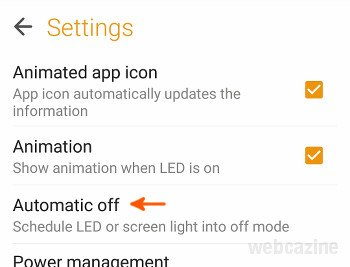 zenfone flashlight duration
