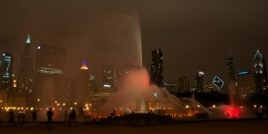 Chicago FOuntain 10x20 3 pink