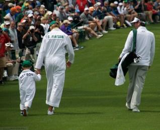 Bubba Watson and family