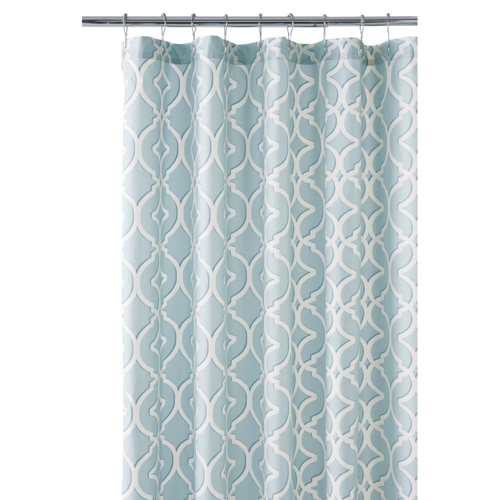 sea glass colored shower curtain shower curtain
