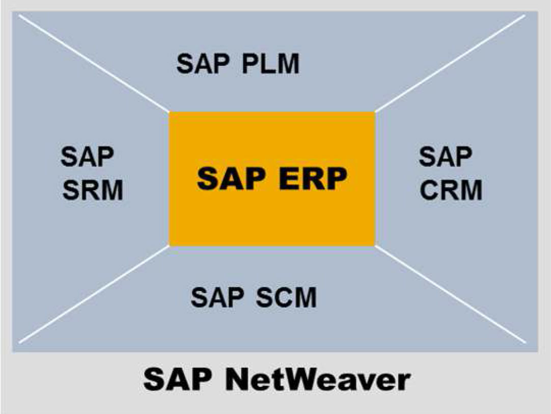 hight resolution of sap business suite components