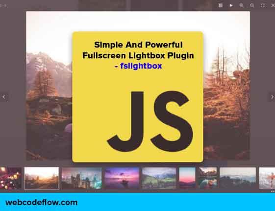 Fullscreen-Lightbox-Plugin