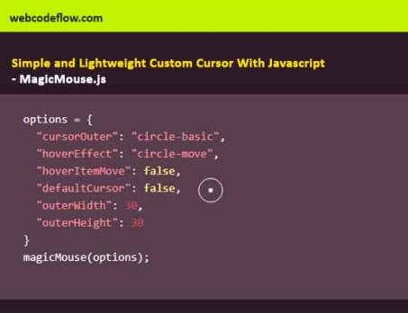 Simple-and-Lightweight-Custom-Cursor-With-Javascript