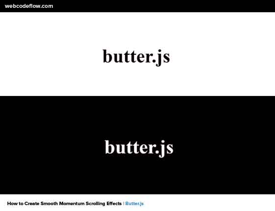 Smooth-Momentum-Scrolling-Effects