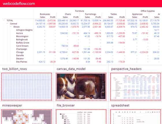 Table-Data-Visualization