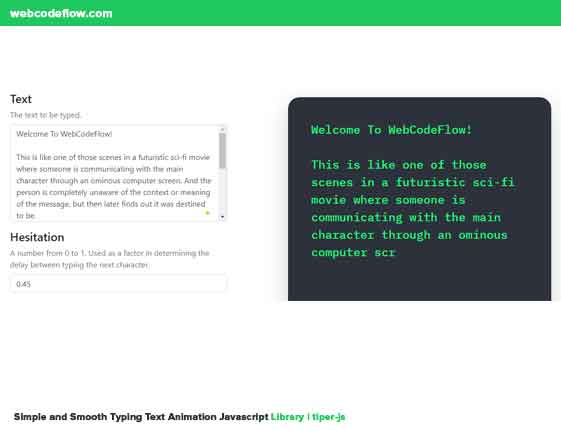 Typing-Text-Animation-Javascript