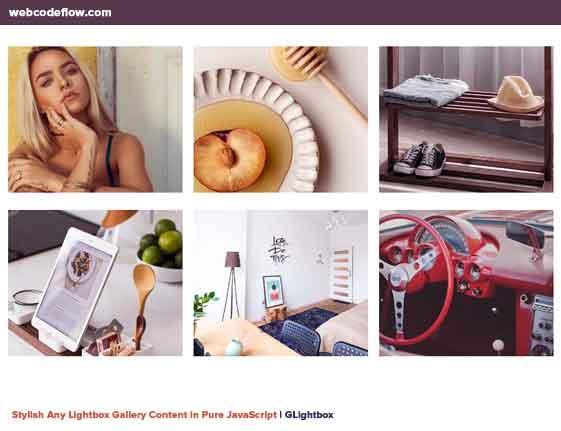GLightbox-Lightbox-Gallery