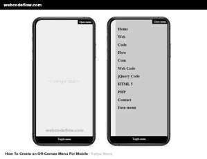 Mobile-Swipe-Menu