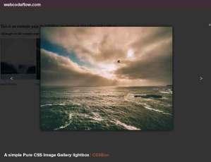 Pure-CSS-Image-Gallery-lightbox