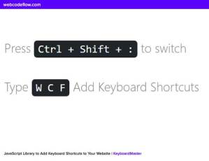 Add-Keyboard-Shortcuts-to-Your-Website-KeyboardMaster