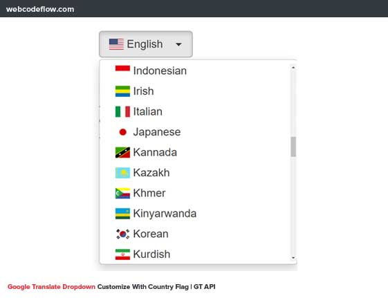 Google-Translate-Dropdown-Customize-With-Country-Flag
