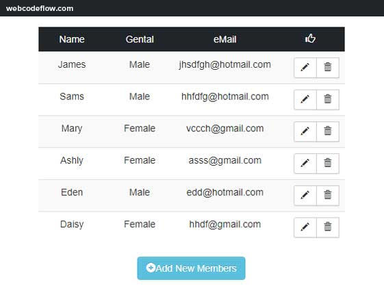 HMTL-Editable-Tables-with-Bootstrap