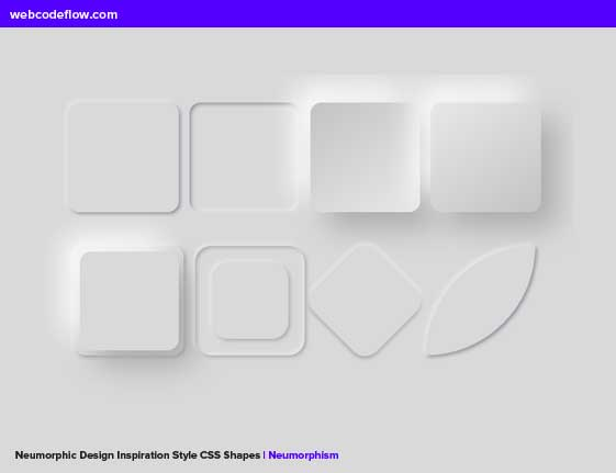 Neumorphic-Design-CSS