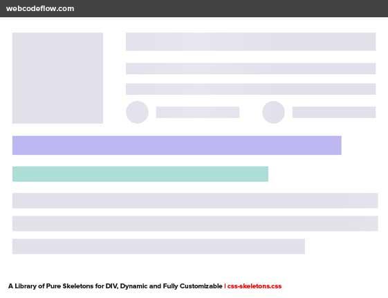 Skeleton-Screen-CSS